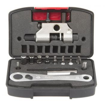 M-WAVE RATCHET WRENCH AND CHAIN ​​TOOL BOX