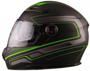 Integral helmet Vito Falcone black green