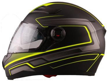 Integral helmet Vito Falcone black yellow