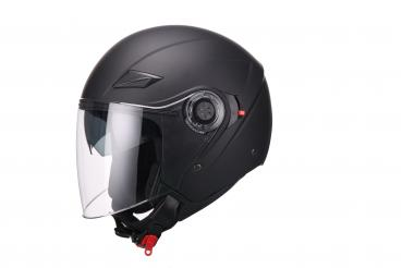 Open face helmet VITO AMARO matt black