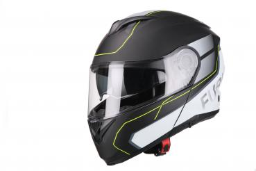 VITO flip-up helmet Furio matt black/yellow
