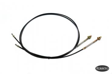 Brake cable set rear