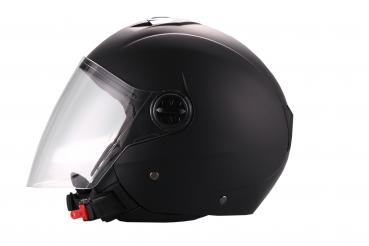 VITO Palermo open face helmet matt black