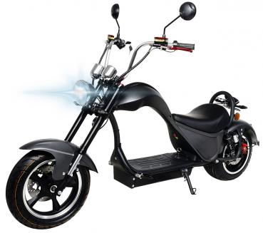 eFlux Harley One Electric Scooter 2000 Watts 60V 20AH black