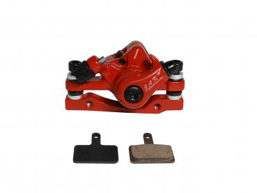 Brake caliper red eFlux Freeride Pro