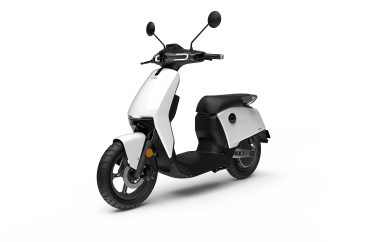 Super Soco CUX Electric Scooter white