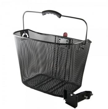 Basket black incl. Mounting material
