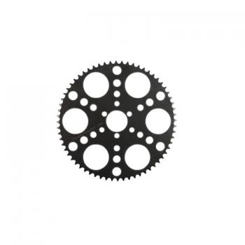 "Laser sprocket 64 teeth for T8F ""thick chain"""