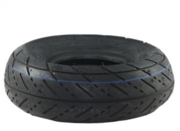 "4 ""tire with road profile 3.00-4"