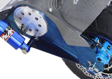 Swing arm rear blue