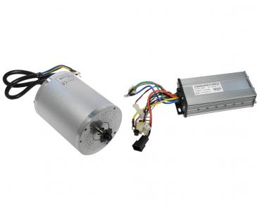 Tuning Set Brushless electric motor 60V 2000W with control unit