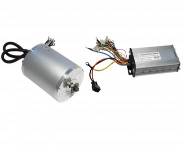 Tuning Set Brushless electric motor 48V 1600W with control unit