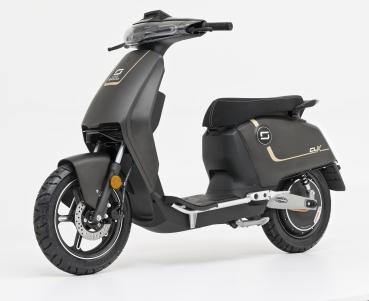 Super Soco CUX Electric Scooter graphitgray matt