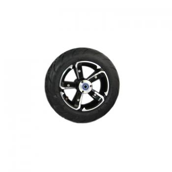 "6.5 ""complete wheel set alloy rim with front tires"