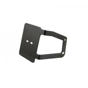 License plate bracket - license plate