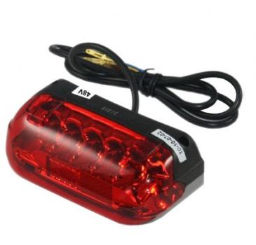 LED rear light with brake light 48V