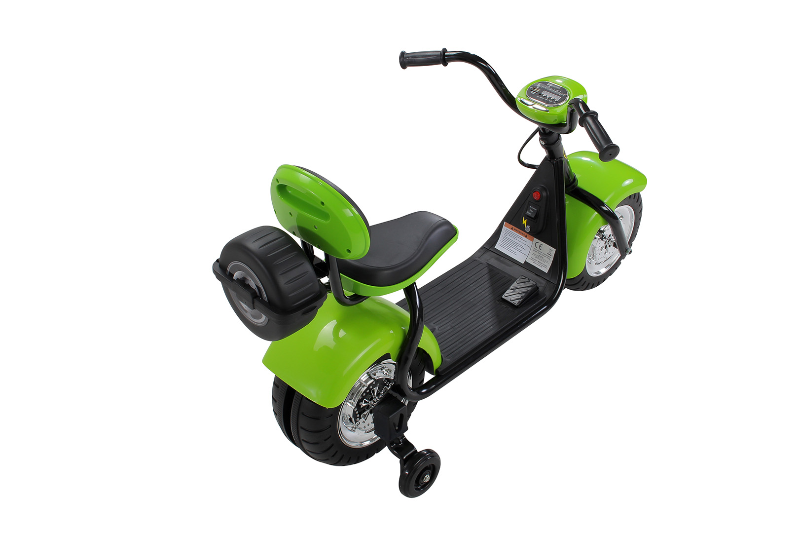 kinder elektromotorrad harley scooter in. Black Bedroom Furniture Sets. Home Design Ideas