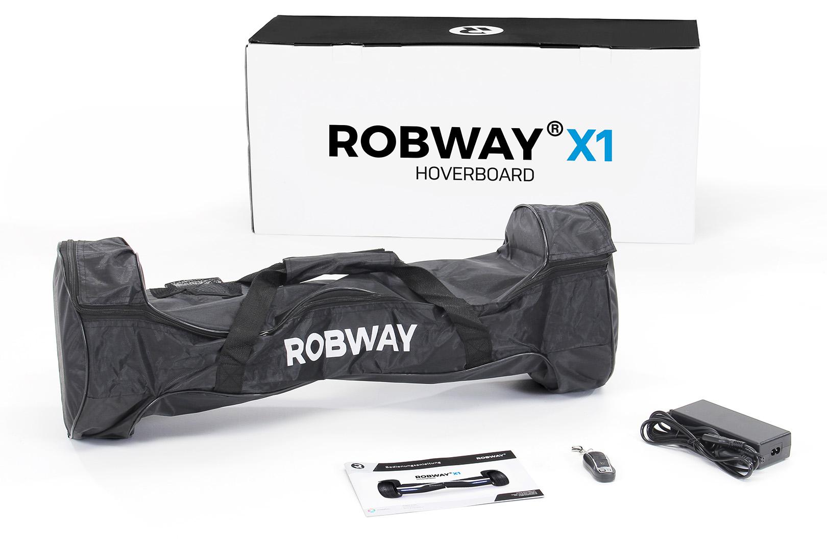 E-Balance Board ROBWAY X2 8,5/' STREET Reifen mit App-Funktion